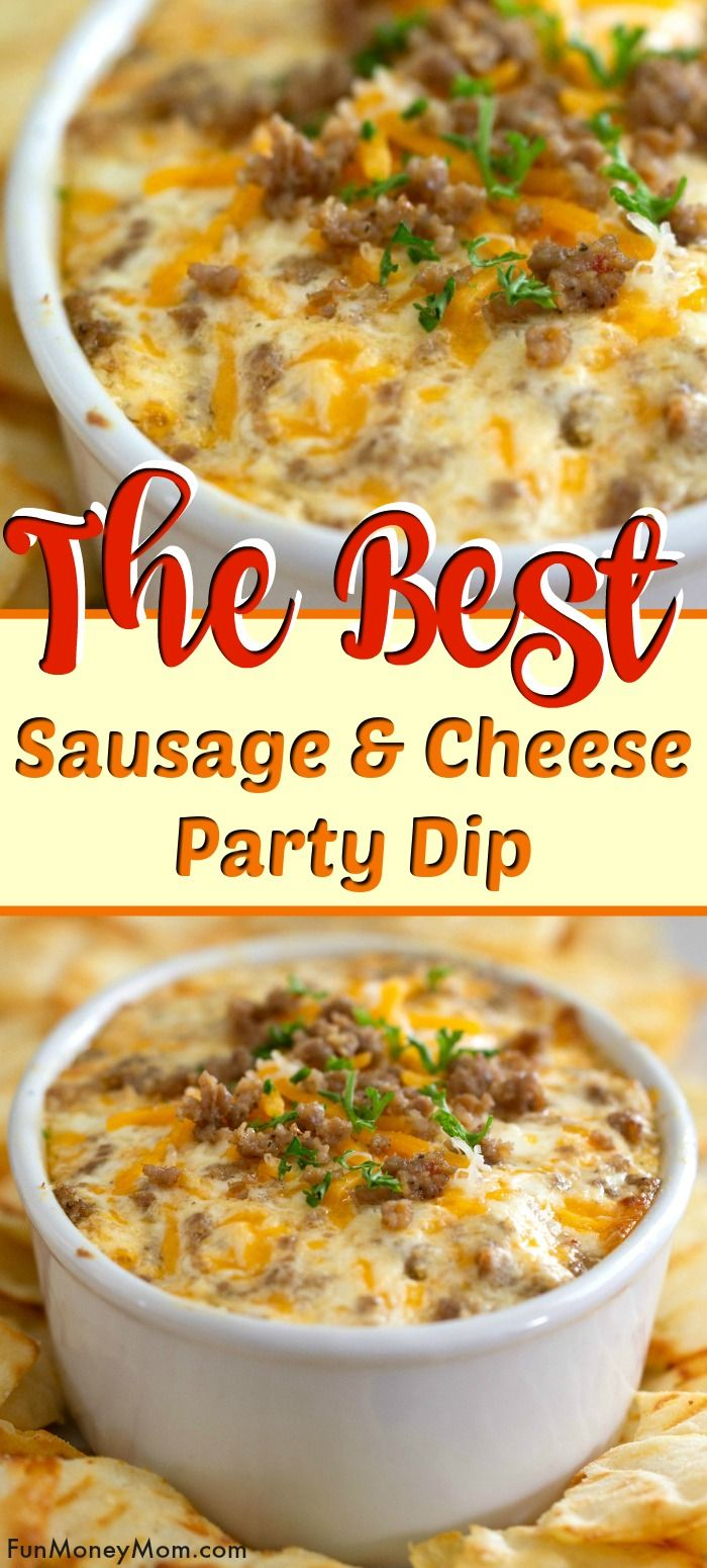 Sausage & Cheese Party Dip