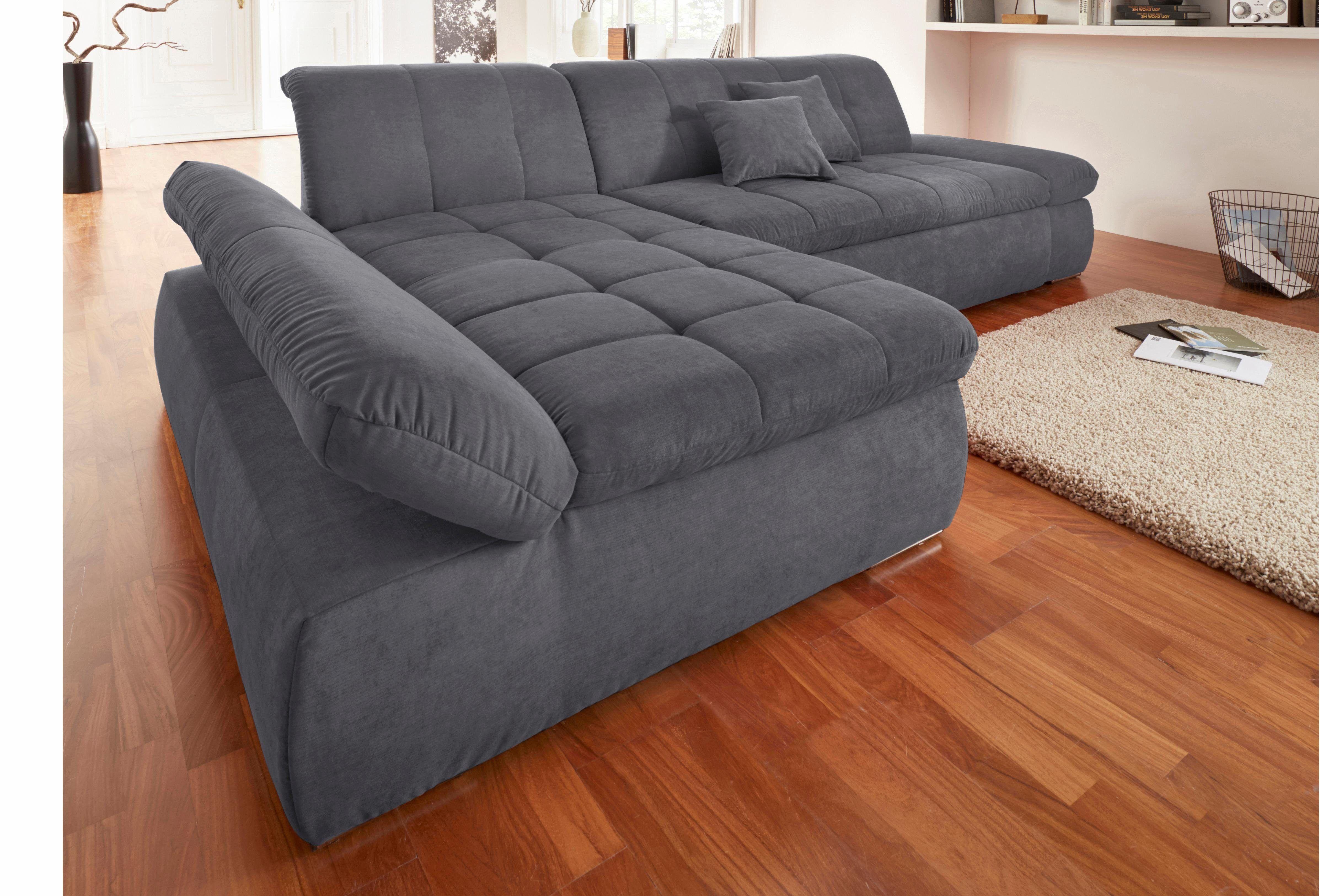 Eckcouch grau schwarz  Stoffsofa ARI Ecksofa in grau | möbel | furniture | Pinterest | Html