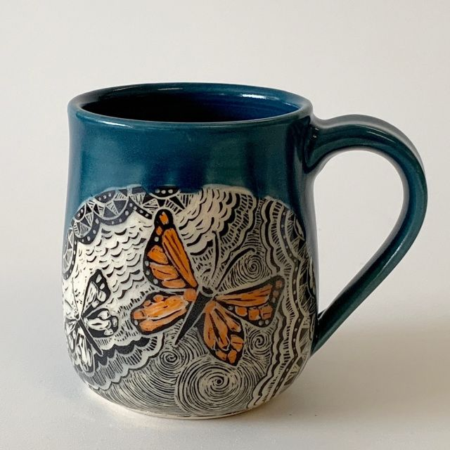 SPECIAL ORDER - Mug - Butterflies on Both Sides - M18-23-SO
