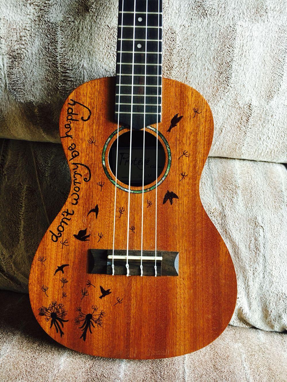 ukulele design with sharpie artsy fartsy. Black Bedroom Furniture Sets. Home Design Ideas