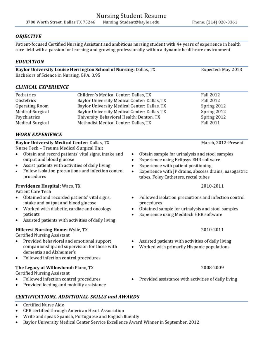 Nursing Student Resume Objective Statement Nursing Student Resume Objective Statement Resume Objectives For Nursing Stnt Clr Significance Many Stnt Nurses S