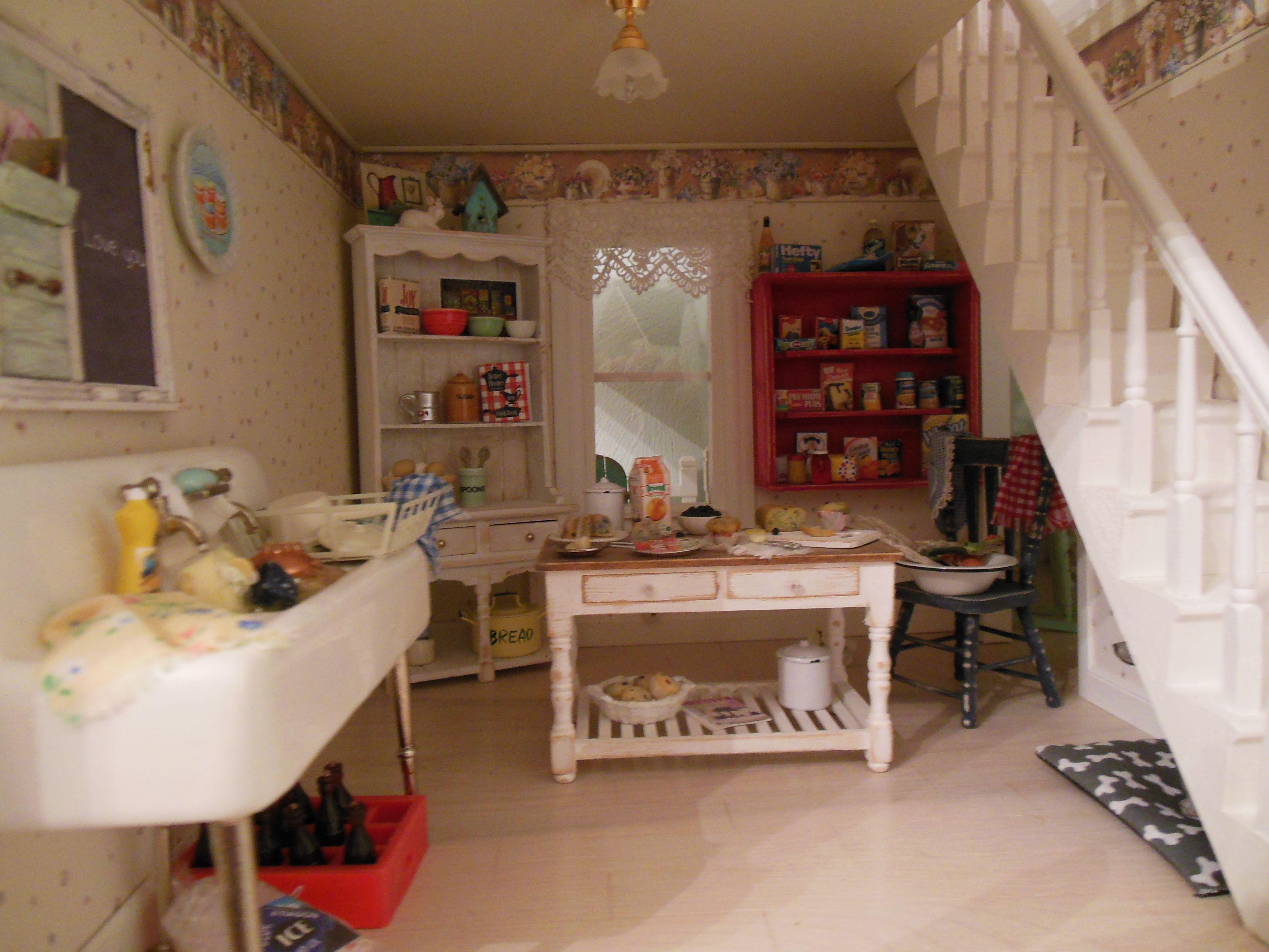 My beach house kitchen my dollhouses pinterest beach