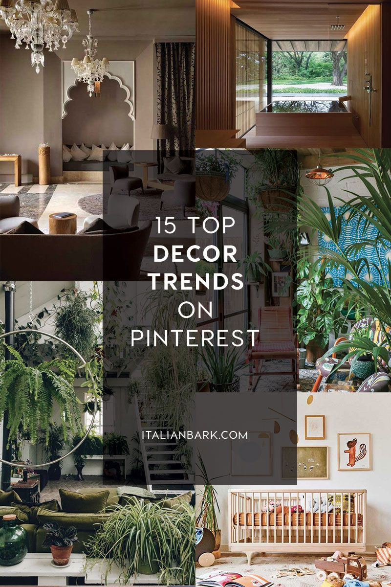 INTERIOR TRENDS 2021 | Top 2020 Decor Trends according to Pinterest in 2020  | Trending decor, Interior trend, Home decor trends