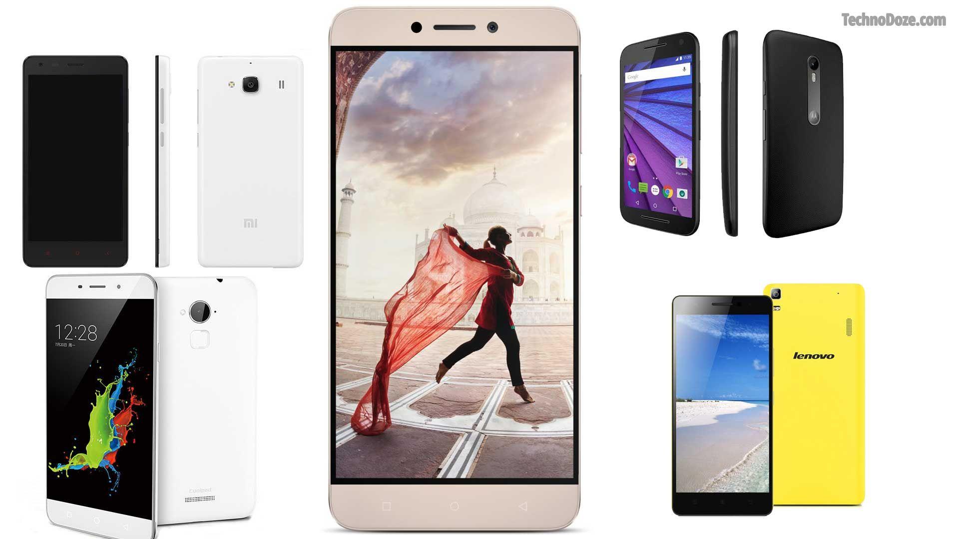 5 Smartphones Under 10000 RS in India 2016 Smartphone