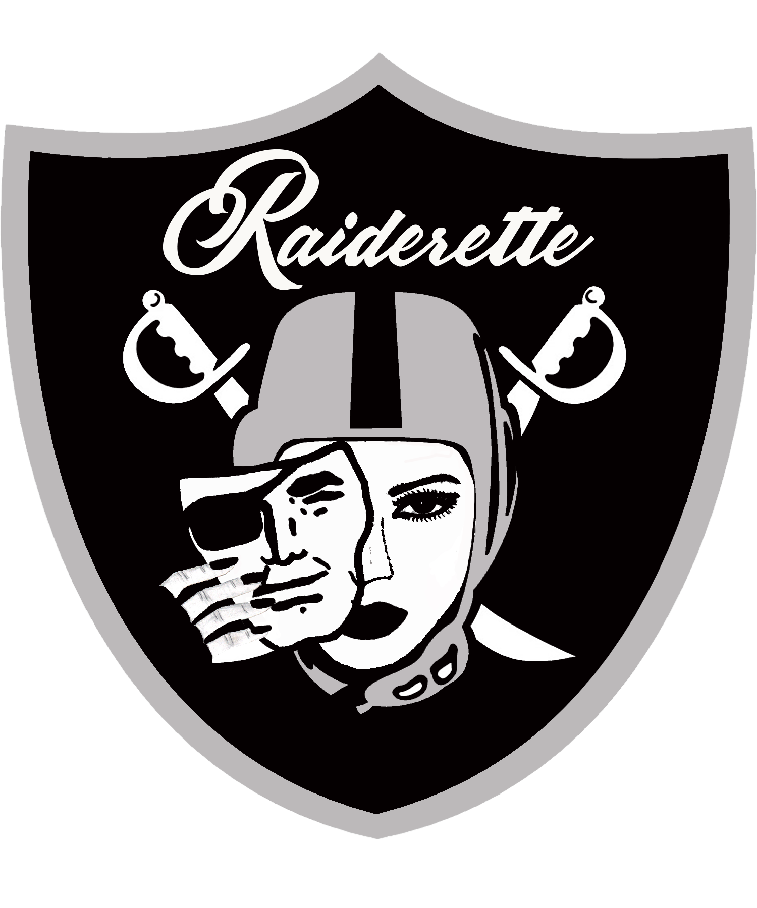 Raiderette Oakland Raiders Logo Raiders Wallpaper Raiders Girl