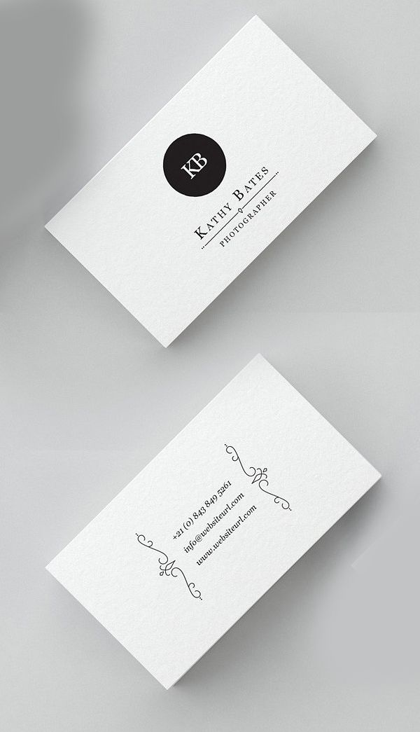Minimal Photography Business Card | Design | Pinterest | Photography ...