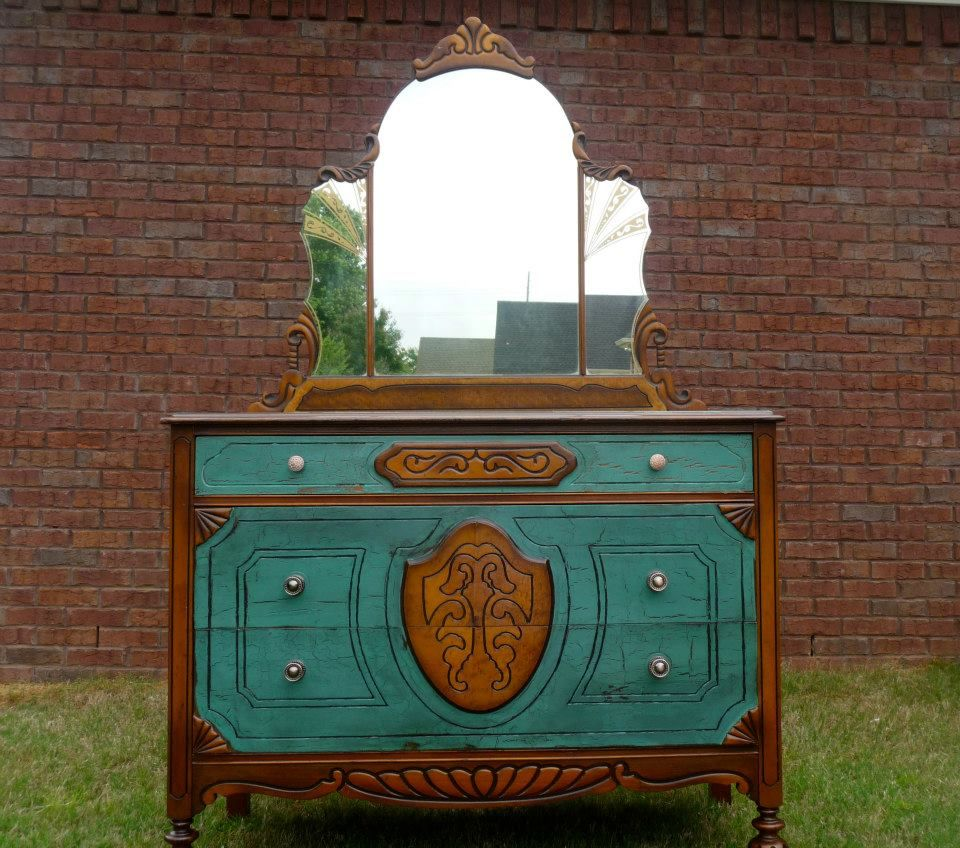 Have A Gorgeous Art Deco Dresser That Is Similar And I