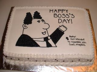 Cakes By Angel Dilbert Boss S Day Cake Bosses Day Happy Boss S
