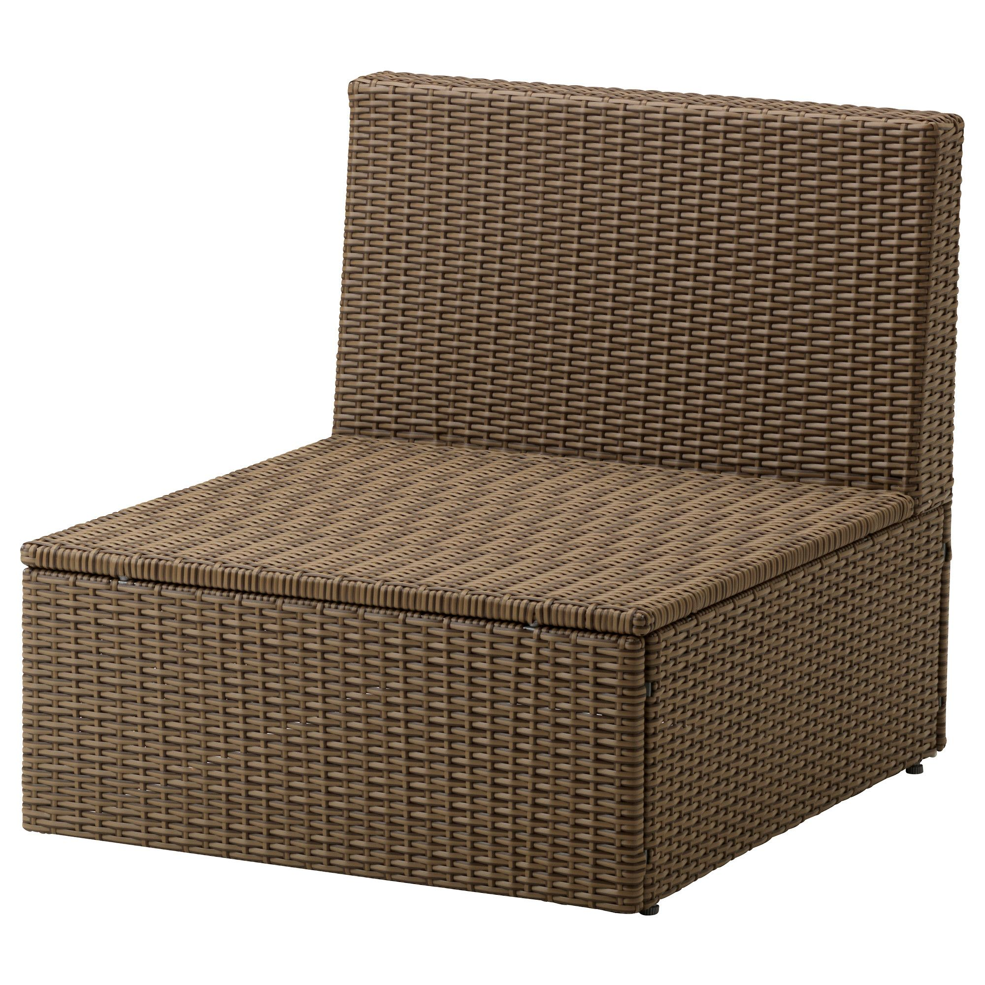 Ikea arholma one seat section outdoor by combining different seating sections you can create a sofa in a shape and size that perfectly suits your