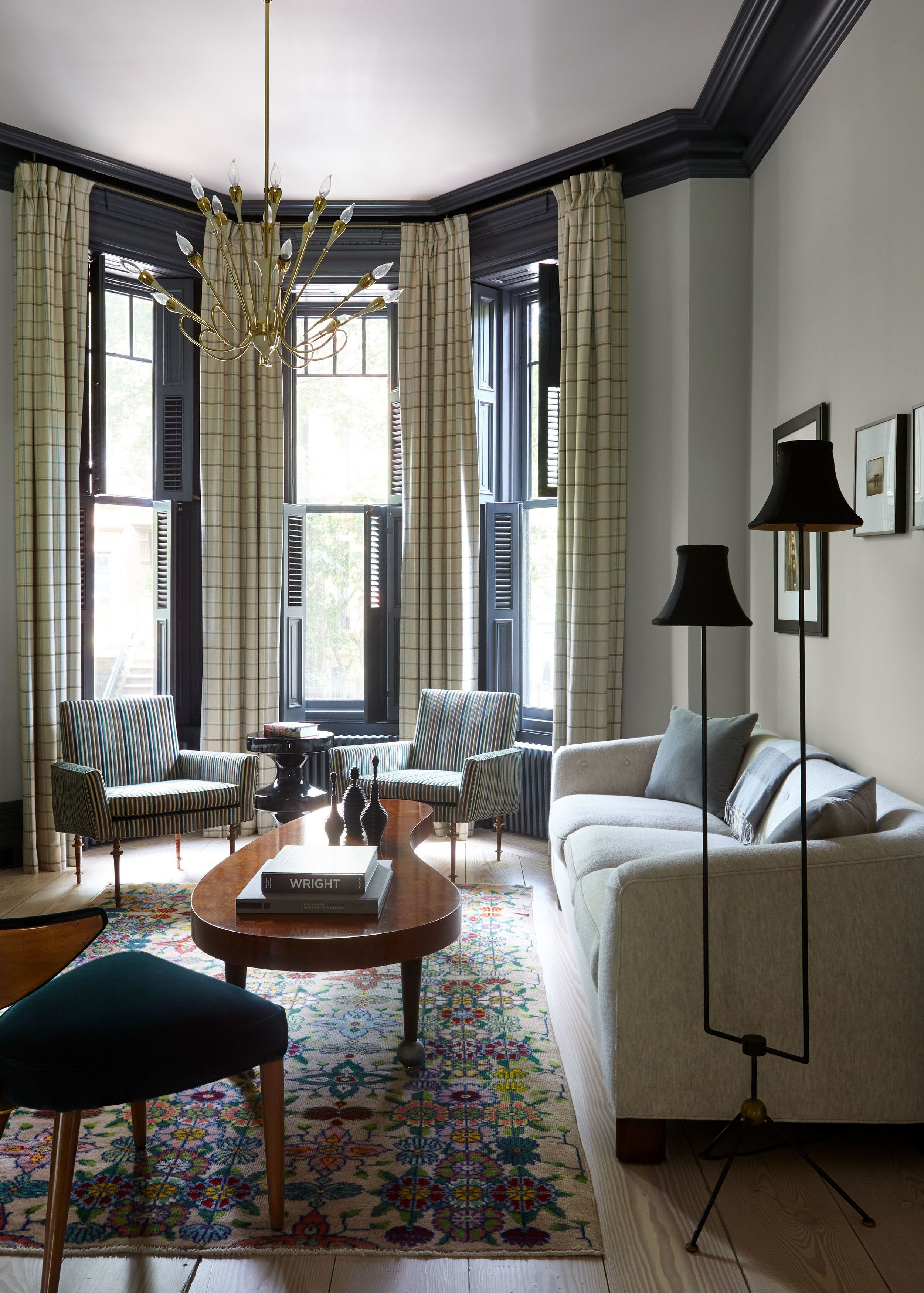 Townhouse Living Room Design: Projects — Damon Liss Design