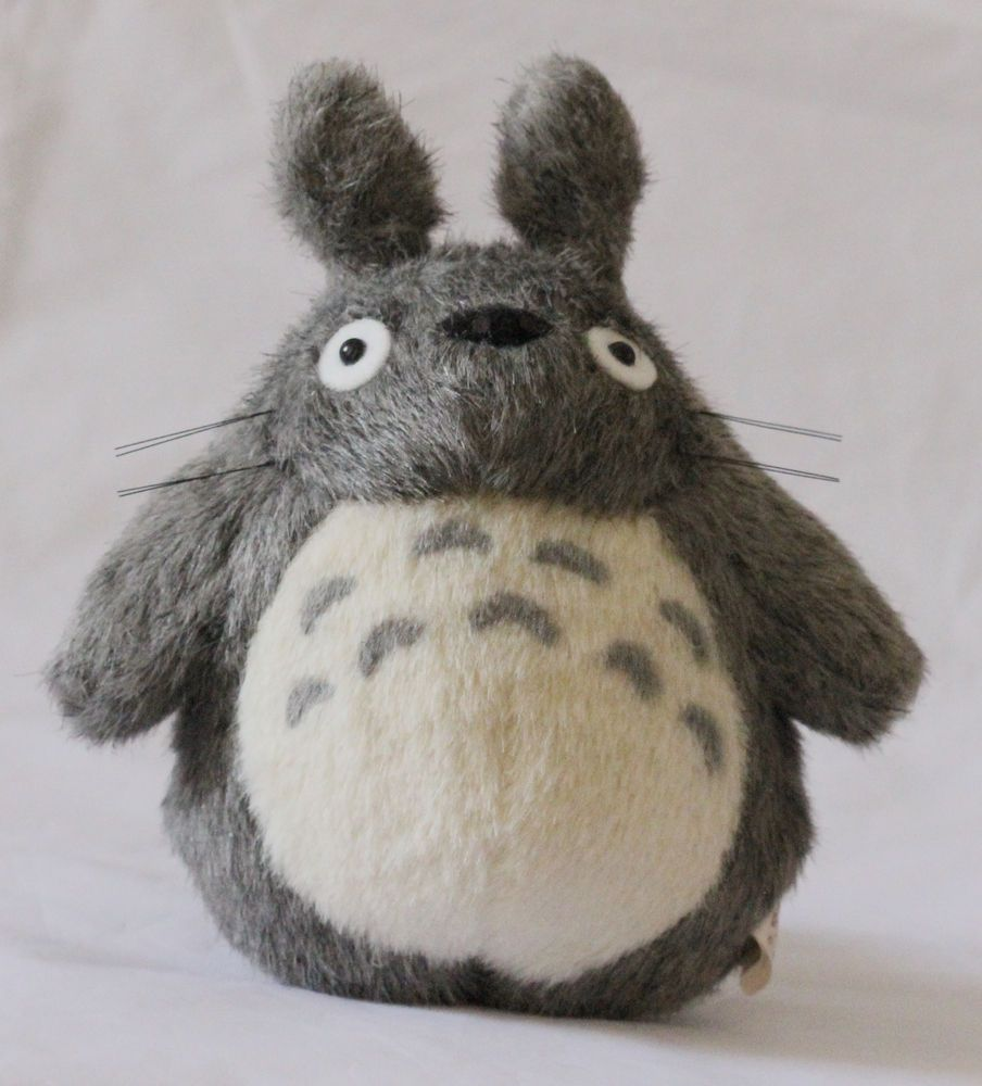 """JAPAN STUDIO GHIBLI 6"""" Classic TOTORO PLUSH DOLL NEW TOY My Neighbor Totoro in Collectables, Animation, Japanese/ Anime 