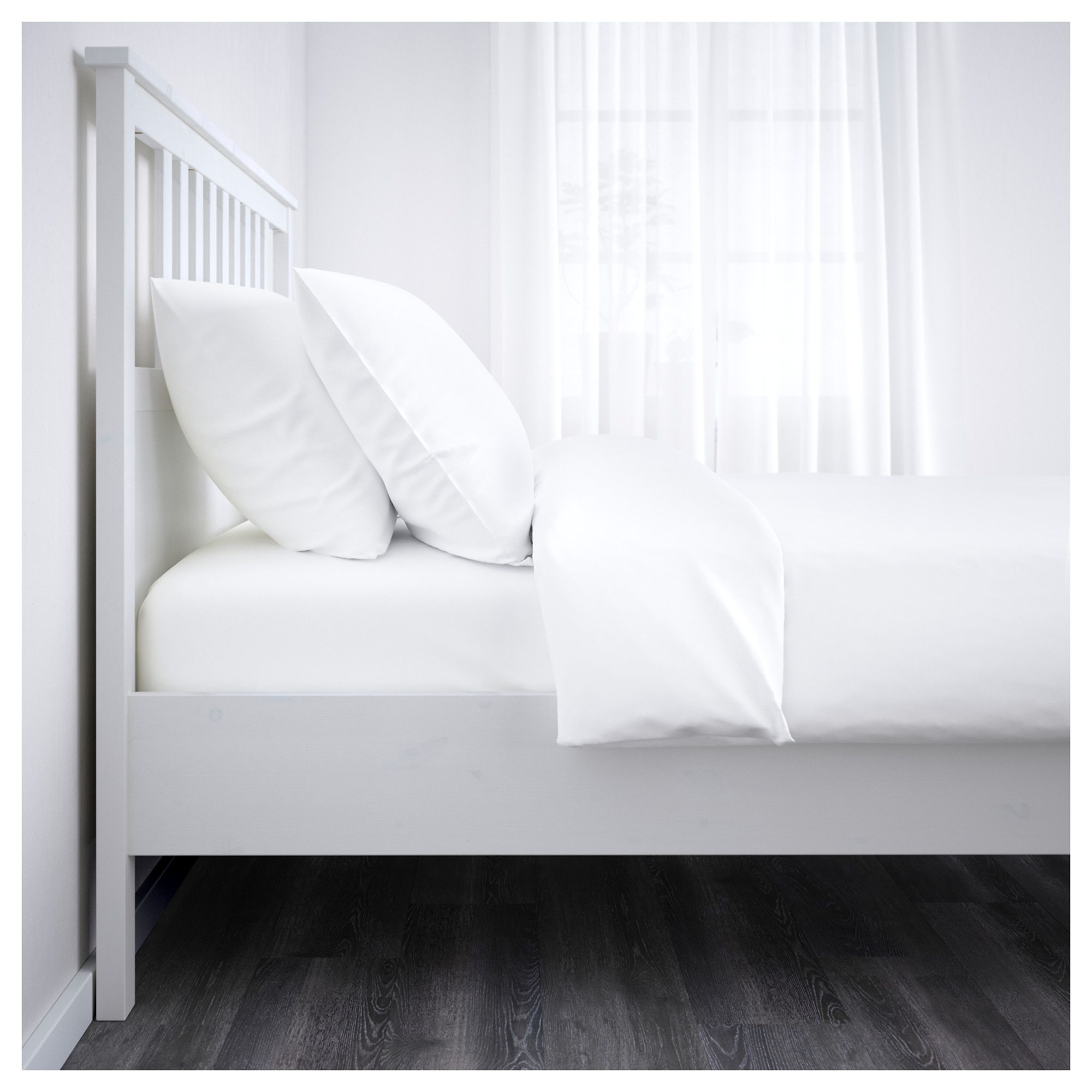 Hemnes Bed Frame White Stain 180x200 Cm Adjustable Beds Hemnes Bed Bed Frame