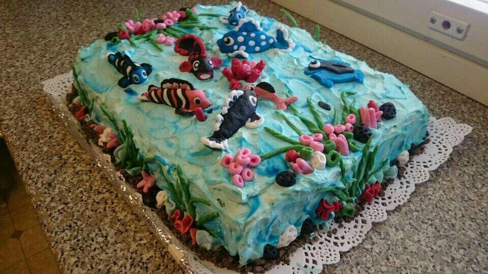 Nyt on pilkkikisat järjestetty ja kakku sen mukainen. Osanottajia oli n. 30 henkilöä.