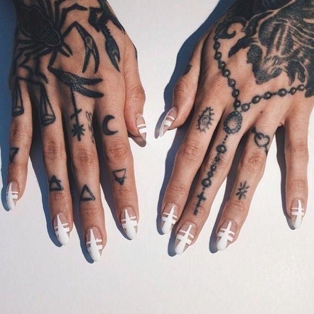 Tattoos, Hand Tattoos, Finger