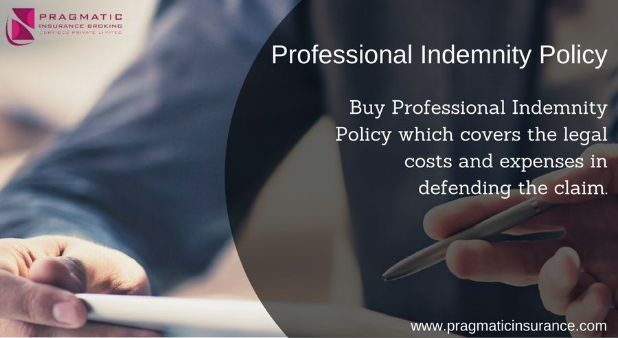 Professional Indemnity Policy - Buy Professional Indemnity ...