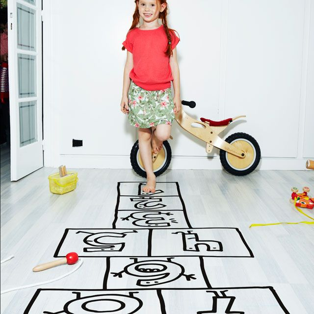 Simply spectacular.... use on walls, floors... make your kids love Brooklyn even more! Chispum hopscotch.  http://www.chispum.com/wp-tienda/index.php/rayuela-2/?lang=en