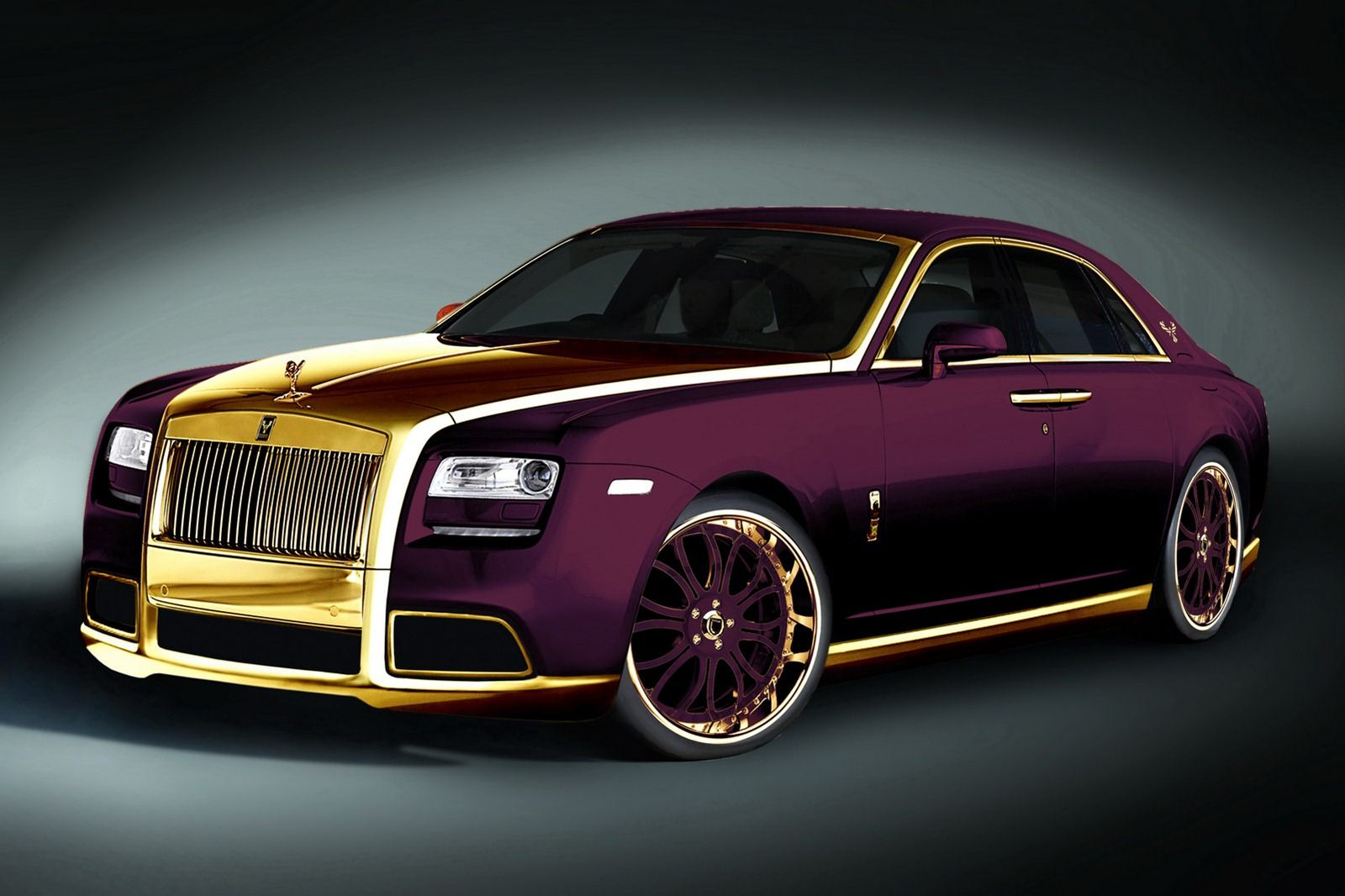 Get This Car Pictures 2015 Rolls Royce Ghost Paris Purple In Gallery