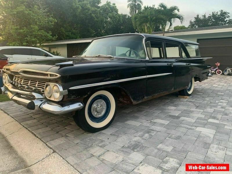 Car For Sale 1959 Chevrolet Brookwood Station Wagon
