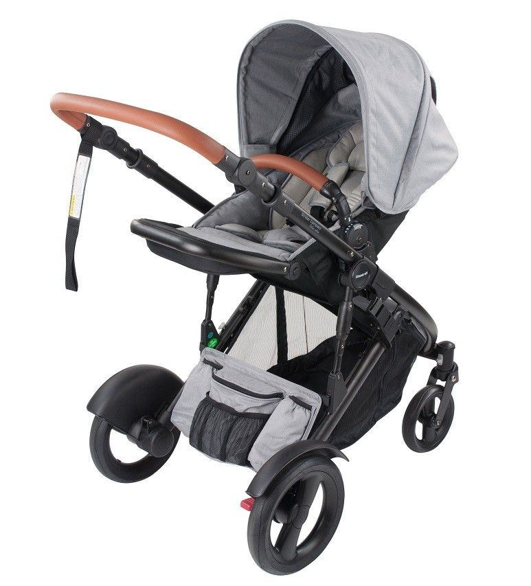 Steelcraft Strider Compact Deluxe Edition - Grey Linen | Healthy Mum ...