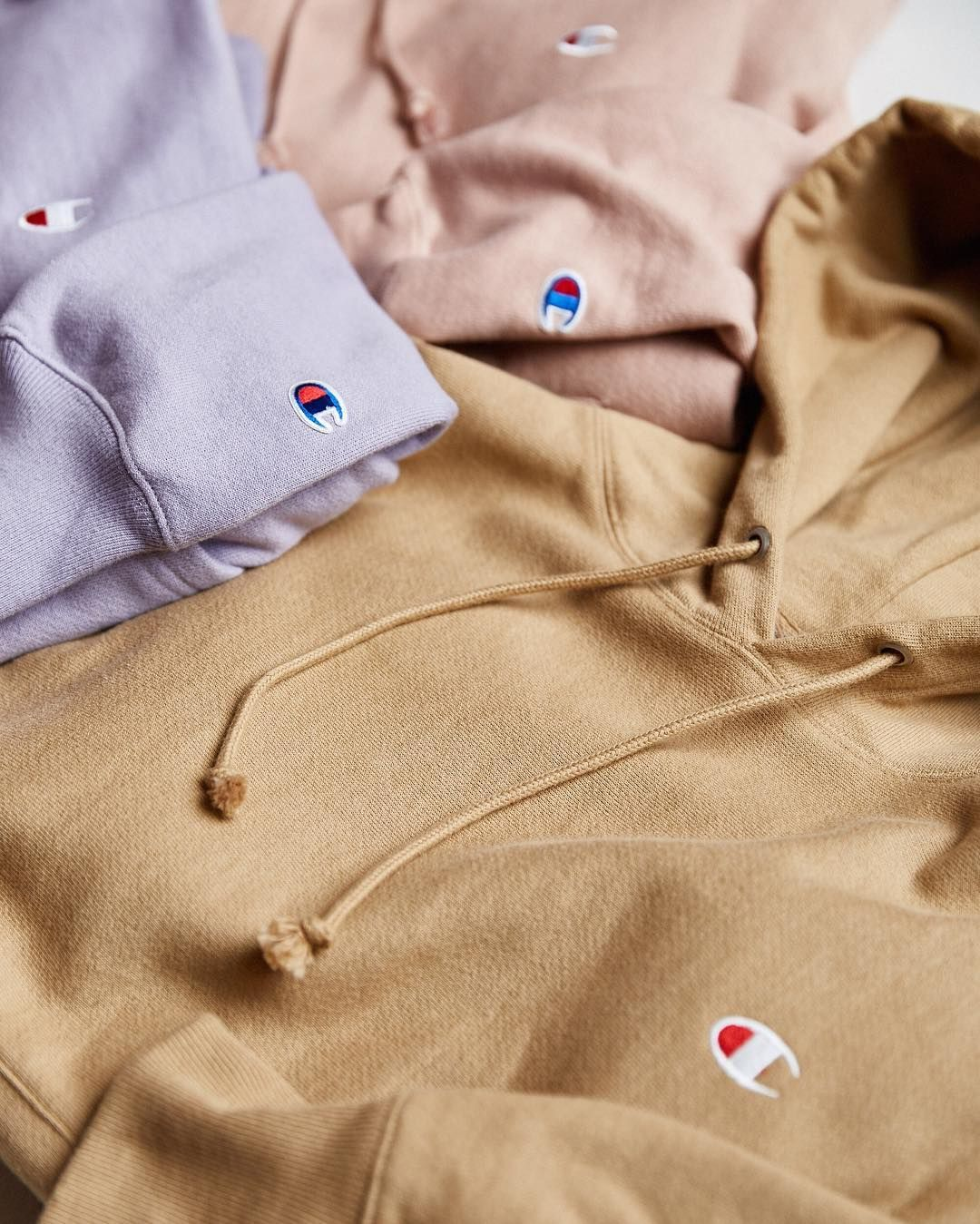 ab7bf763 Fresh colors in new and exclusive hoodies from @Champion + UO. Online now ✓  @UrbanOutfittersMens #UOMens