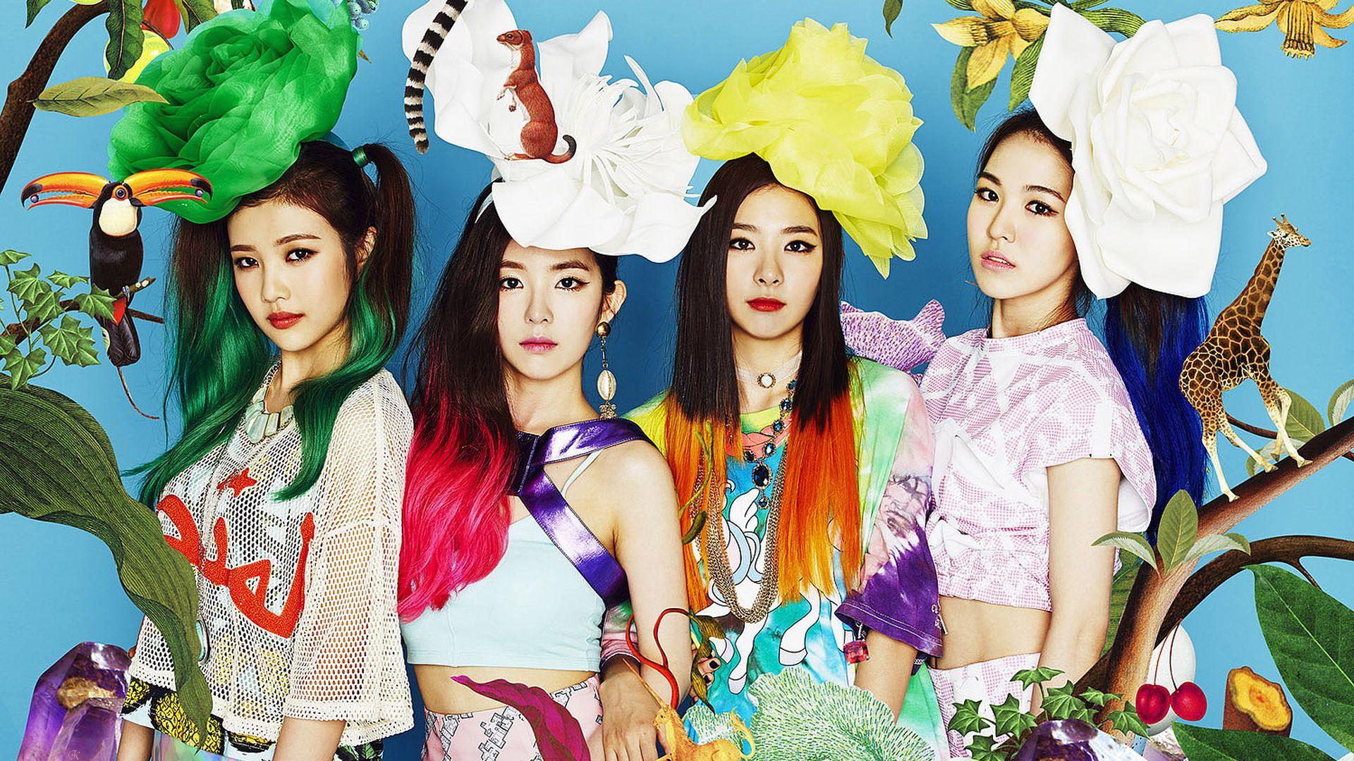 Desktop Wallpaper Red Velvet 레드벨벳 Wallpaper K Pop Girls Full