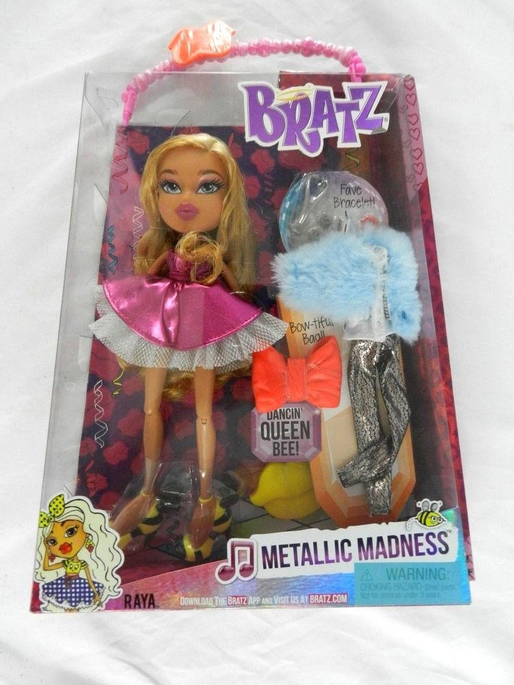 Bratz  Metallic Madness Raya Doll New In Box