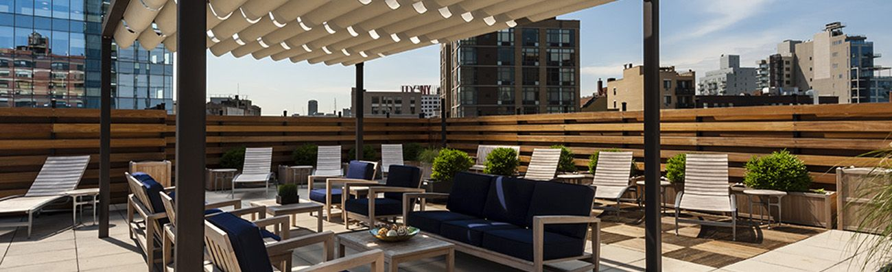 Commercial Interior Design New York | ... New York Interior Design    Rooftop Terrace