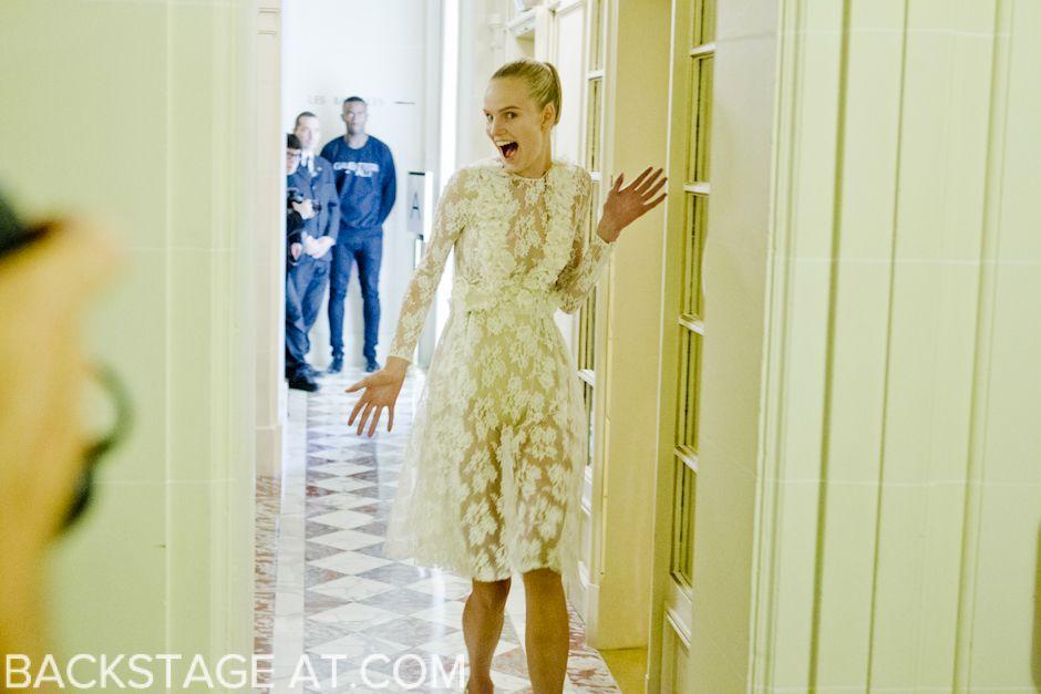 Giambattista Valli - Paris Couture SS/12 Backstage AT