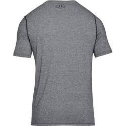 Photo of Under Armor Men's Training Shirt Threadborne Fitted Short Sleeve, Size L in Gray Under ArmorUnder Arm