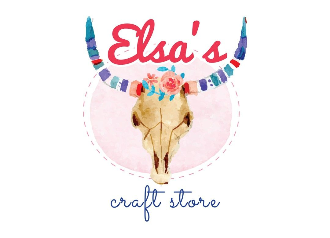 Elsas Craft Store Logo Designed By PrintPediacouk Get In Touch With Us For Design Your Business Call UK 020 800 46 Logodesign