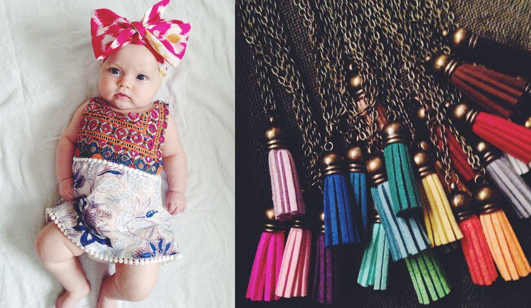 128dd63ef Bohemian Baby Clothing