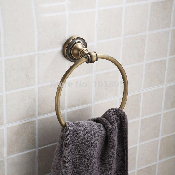 28.13$  Watch here - http://aliy36.shopchina.info/go.php?t=32318104715 - Retail - Luxury Antique Brass Bathroom Towel Ring, Bronze Finish Bathroom Towel Ring, Free Shipping X16008D 28.13$ #aliexpresschina