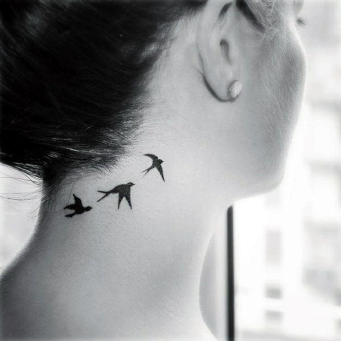 1001 Ideas Sobre Tatuajes En La Nuca Para Mujeres Tinta A