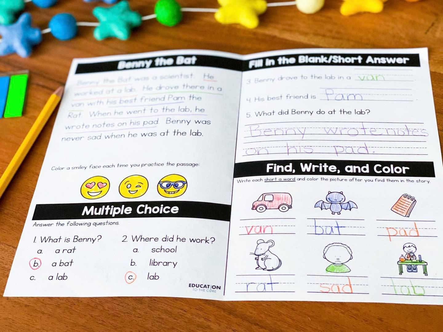 Phonics Booklets In
