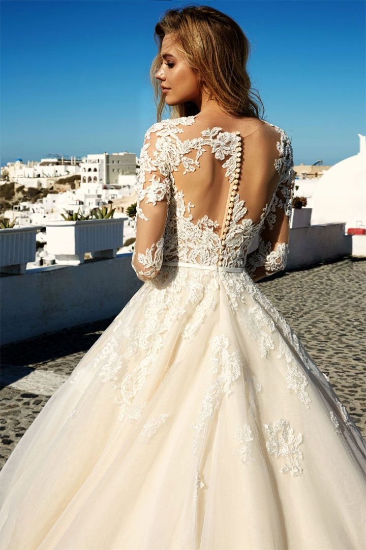 Eva Lendel Wedding Dresses Santorini Campaign { Modern, trendy, vogue Wedding Dresses }
