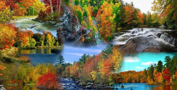 Fonds D Ecran Nature Fonds D Ecran Saisons Automne Wallpaper N 321155 Par Macopa Hebus Com Fond Ecran Nature Les Saisons
