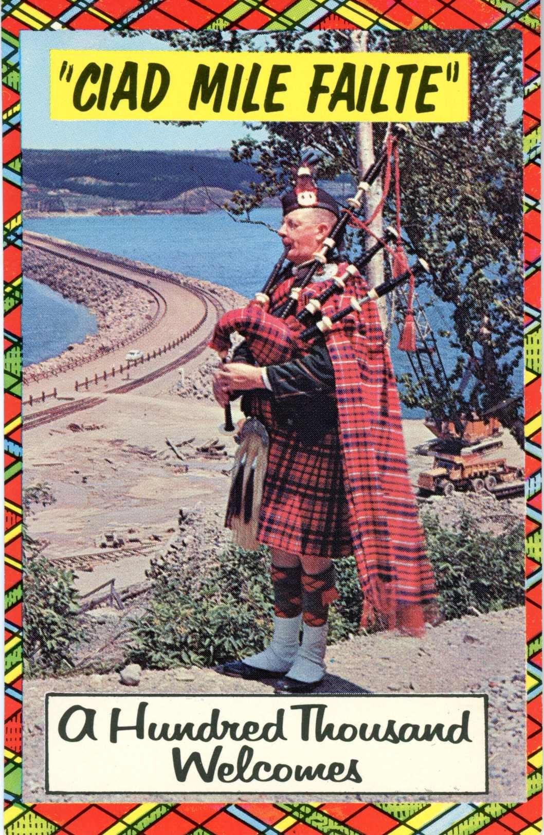 Cape Breton Nova Scotia Canada postcard. Hagins collection.