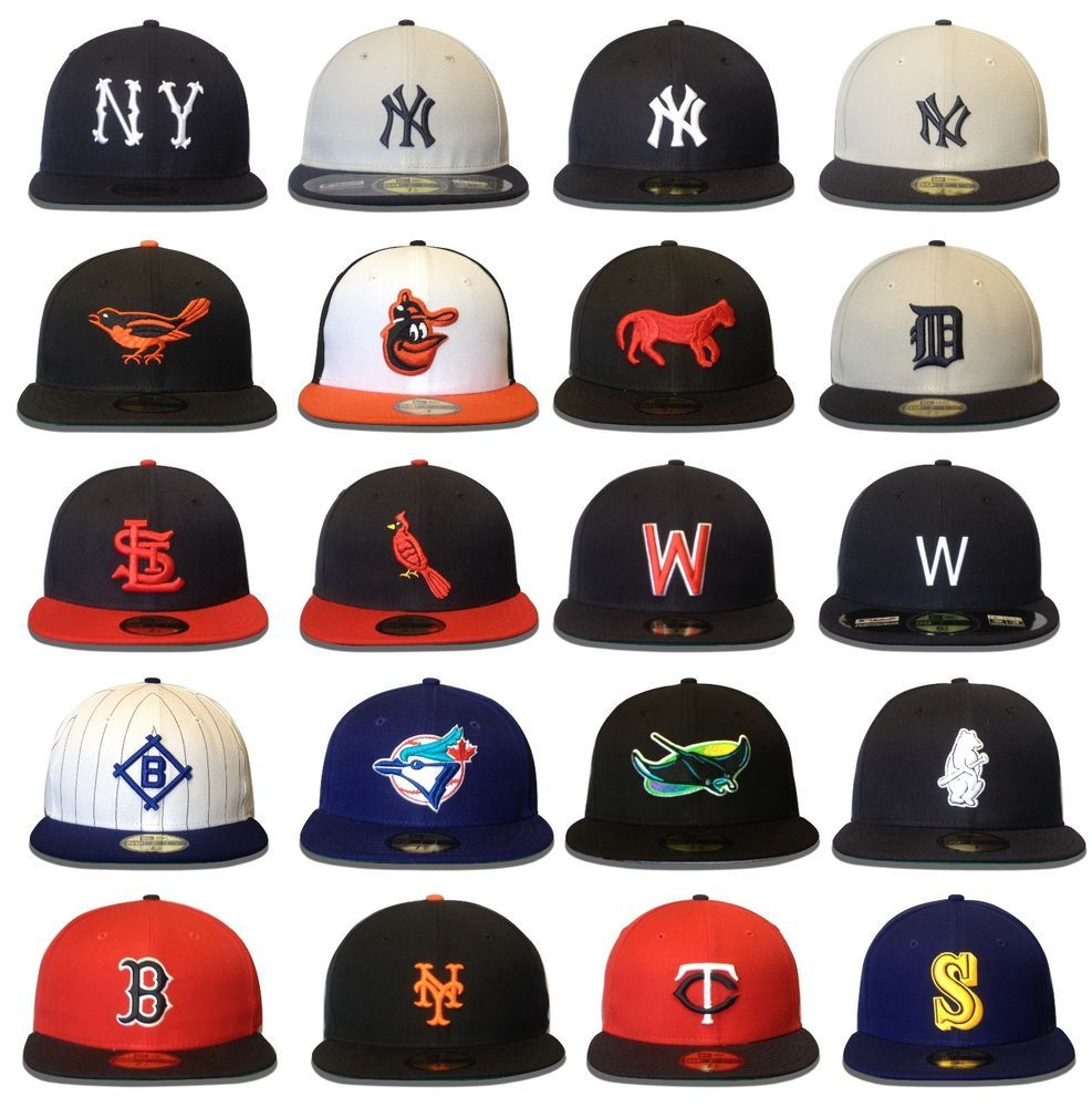 New Era 59FIFTY MLB Classic Cooperstown Collection