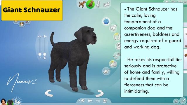 72 Large Dog Breeds Sims 4 Ninesaur Large Dog Breeds Sims 4