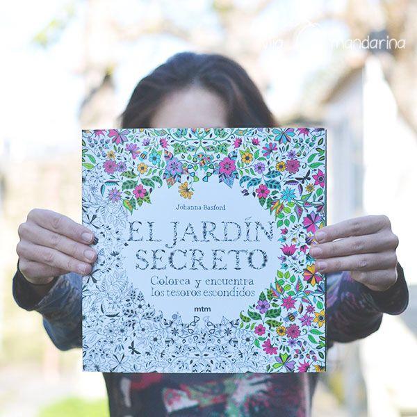 libro para colorear el jardin secreto de johanna basford