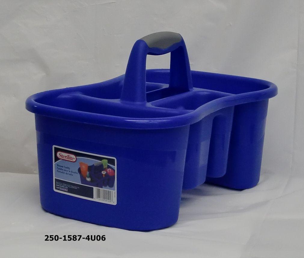 Blue Sterilite Shower Caddy | Bathroom Utensils | Pinterest | Utensils