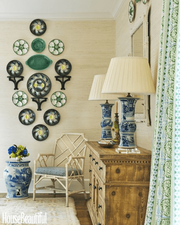 decorating with plates & platters | Decorating with Plates ...