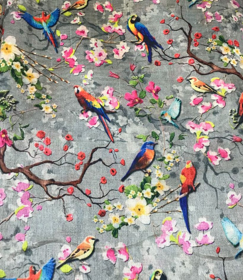 Flowers and birds Floral wallpaper, Chinoiserie
