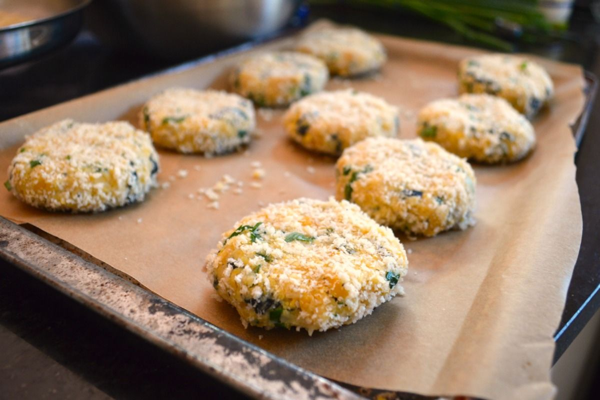 Baked Fish Cakes With Lemon Herb Mayo Vegan Vegan Fish Baked Fish Vegan Recipes