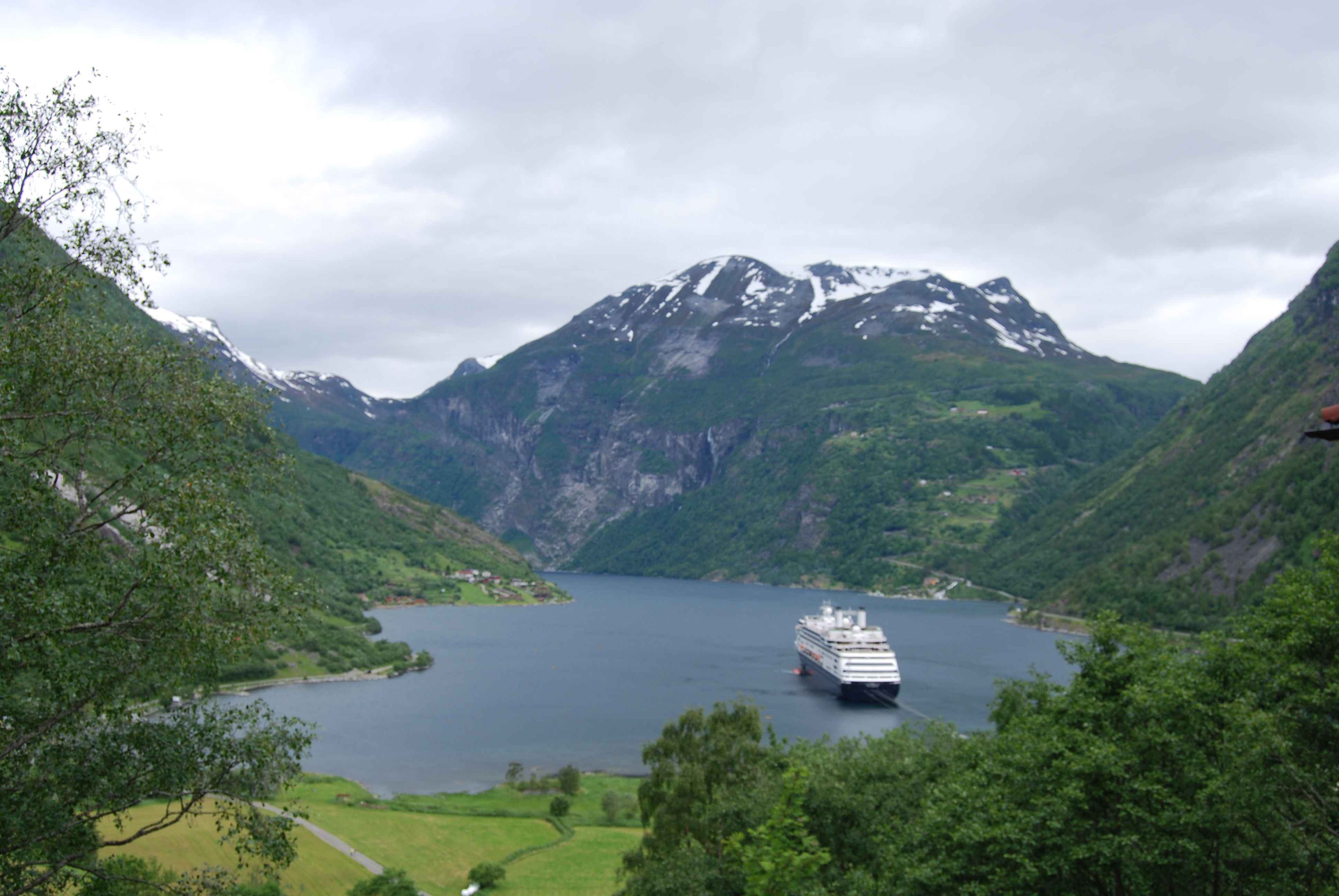 Fjord Rotterdam Ms Rotterdam Hal In Geiranger Norway Cruise Travel