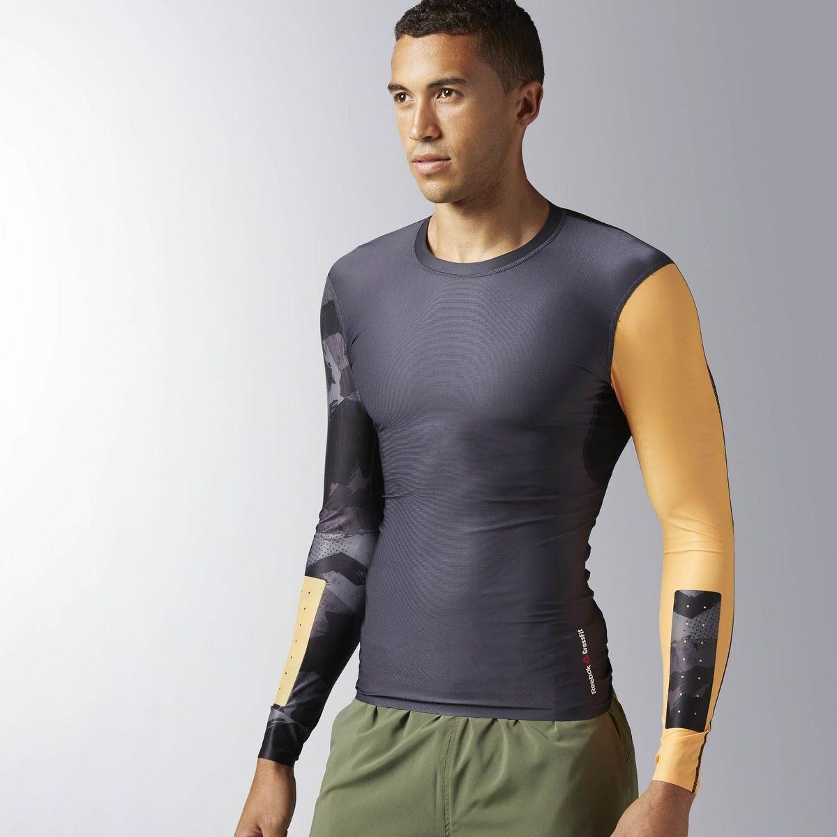 Haut de compression à manches longues Reebok CrossFit