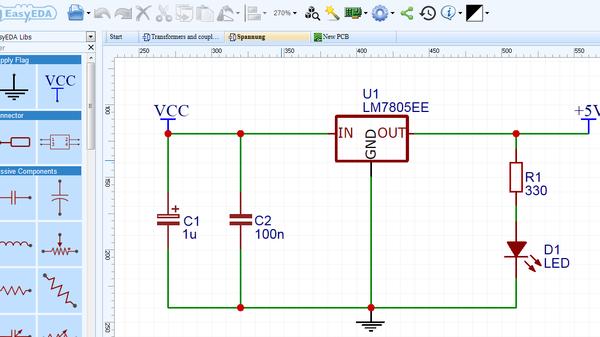 EasyEDA Online Designtool für Schaltpläne, Simulation und ...