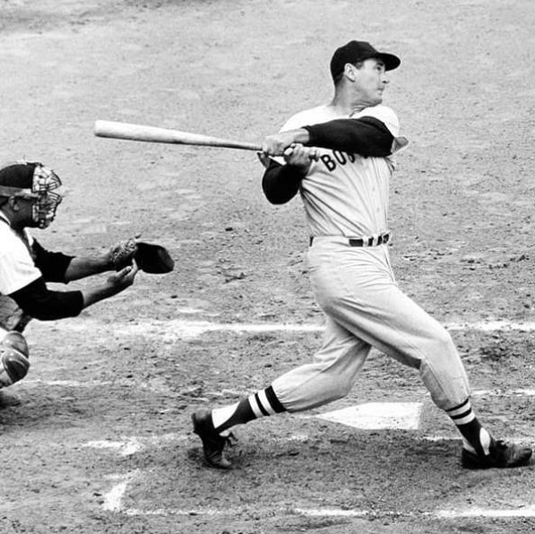 On this day 1958, Ted Williams signed a contract with the
