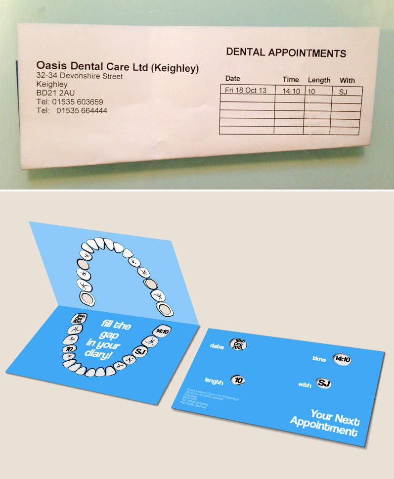 27-dentist-appointment-card.png (797×968) | A - Shiny Teeth & Me ...