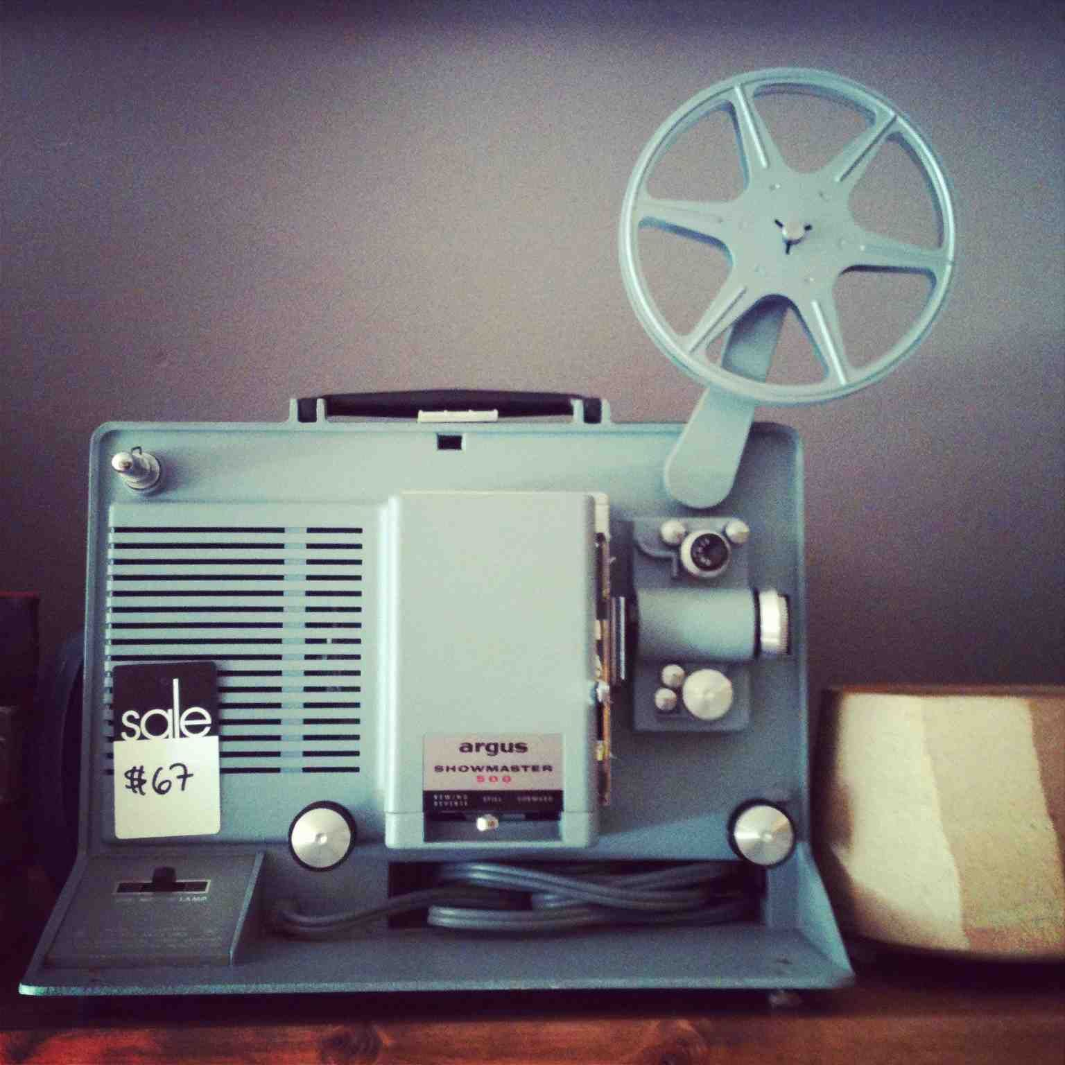 Film Projector    Very Nostalgic for me! And I still love